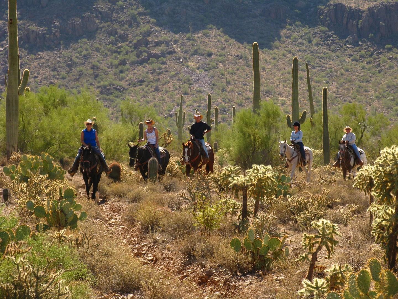De Far West te paard in Arizona - Vakantie te paard / Reisbureau Perlan