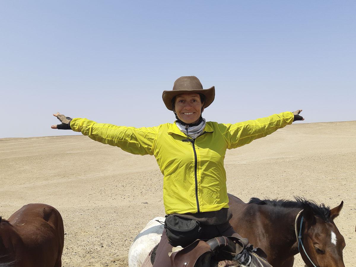 Happy Face Namib Desert - Vakantie te paard / Reisbureau Perlan
