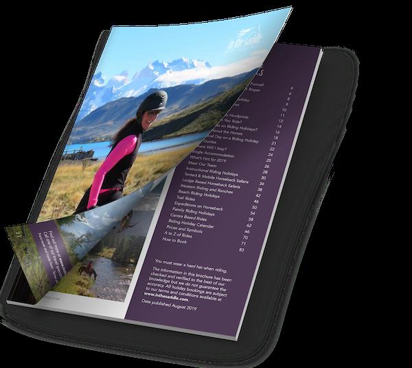 Brochure Vakantie te paard | Paardrijvakanties voor elke paardenliefhebber