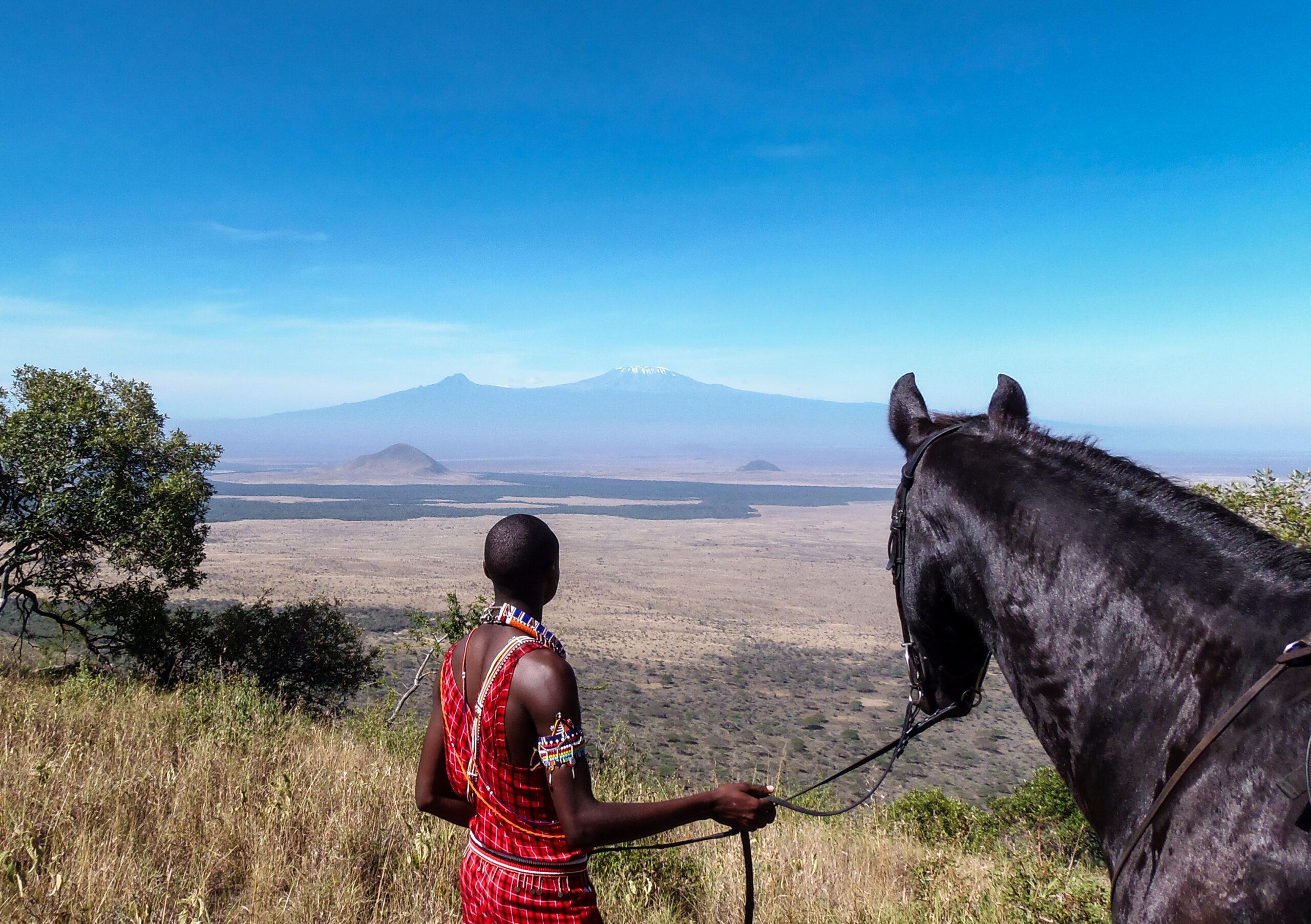 Paardrijden in Kenia - Vakantie te paard / Reisbureau Perlan