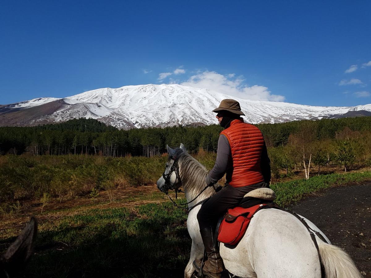 Paardrijden rond de Etna in Sicilië - Vakantie te paard / Reisbureau Perlan