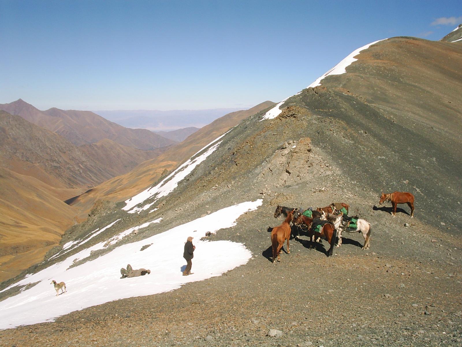 Ver van begane paden in Kyrgizië - Vakantie te paard / Reisbureau Perlan