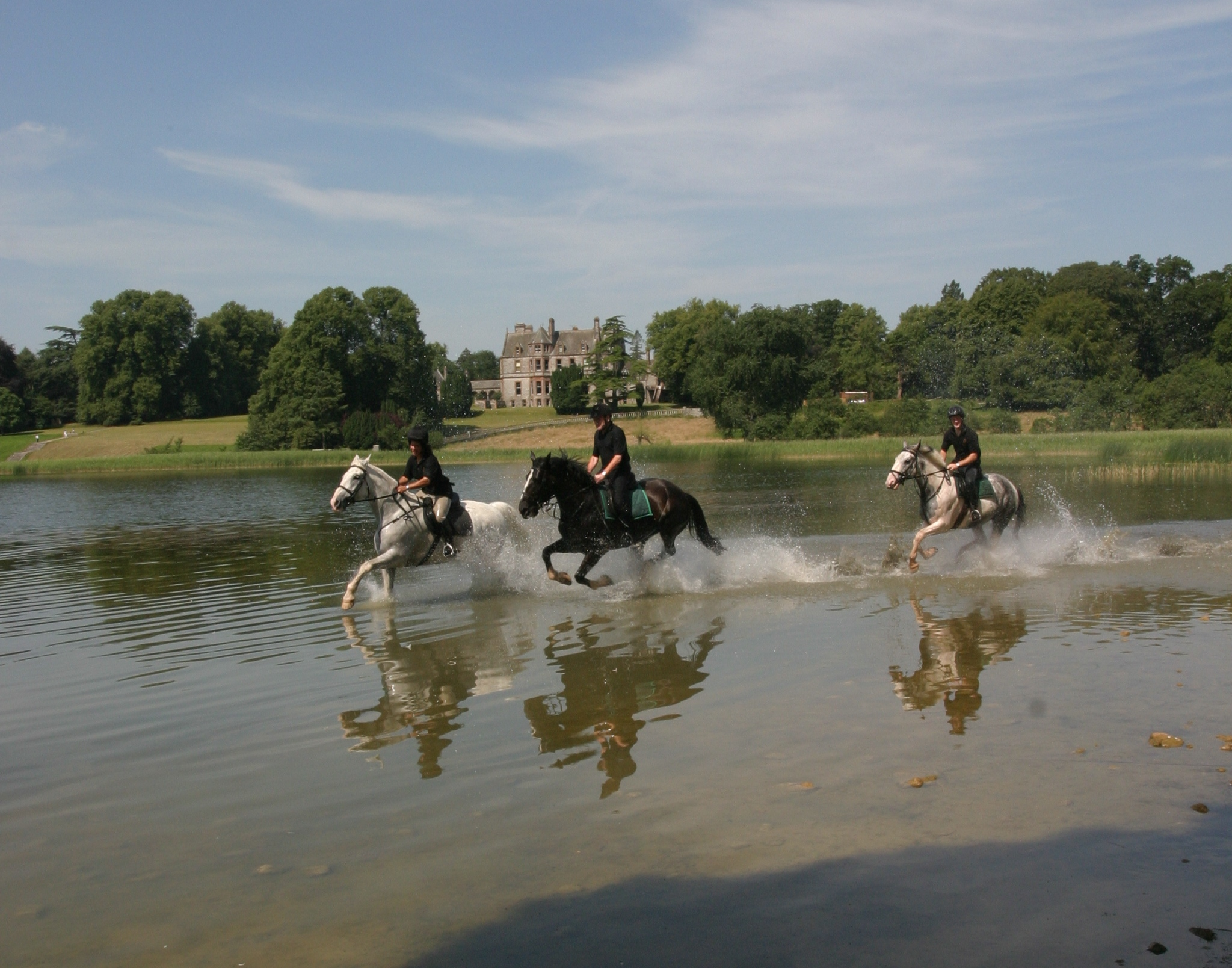'Kasteelpaardrijden' in Ierland - Vakantie te paard / Reisbureau Perlan