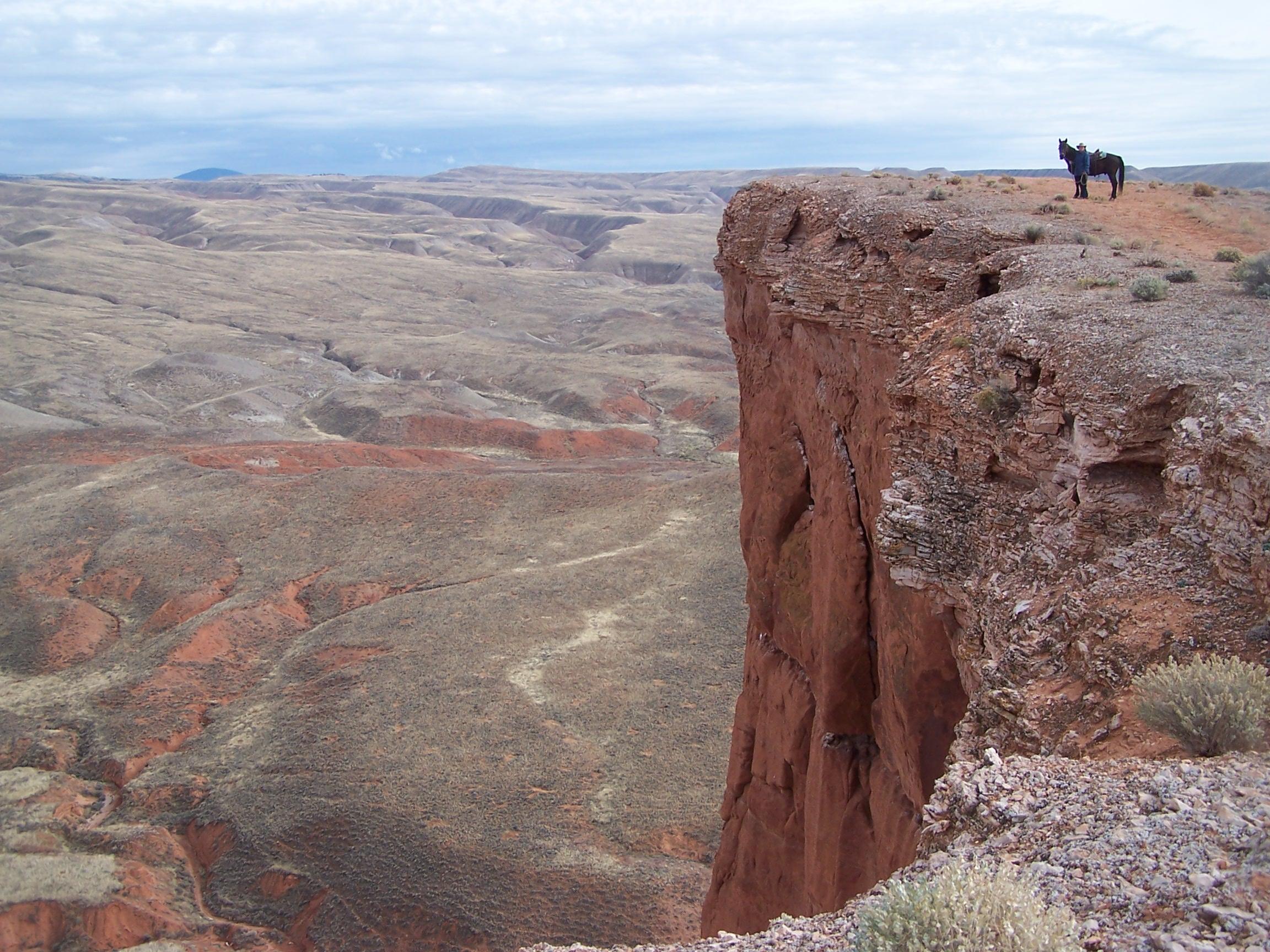 Wyoming vanop een paardenrug - Vakantie te paard / Reisbureau Perlan