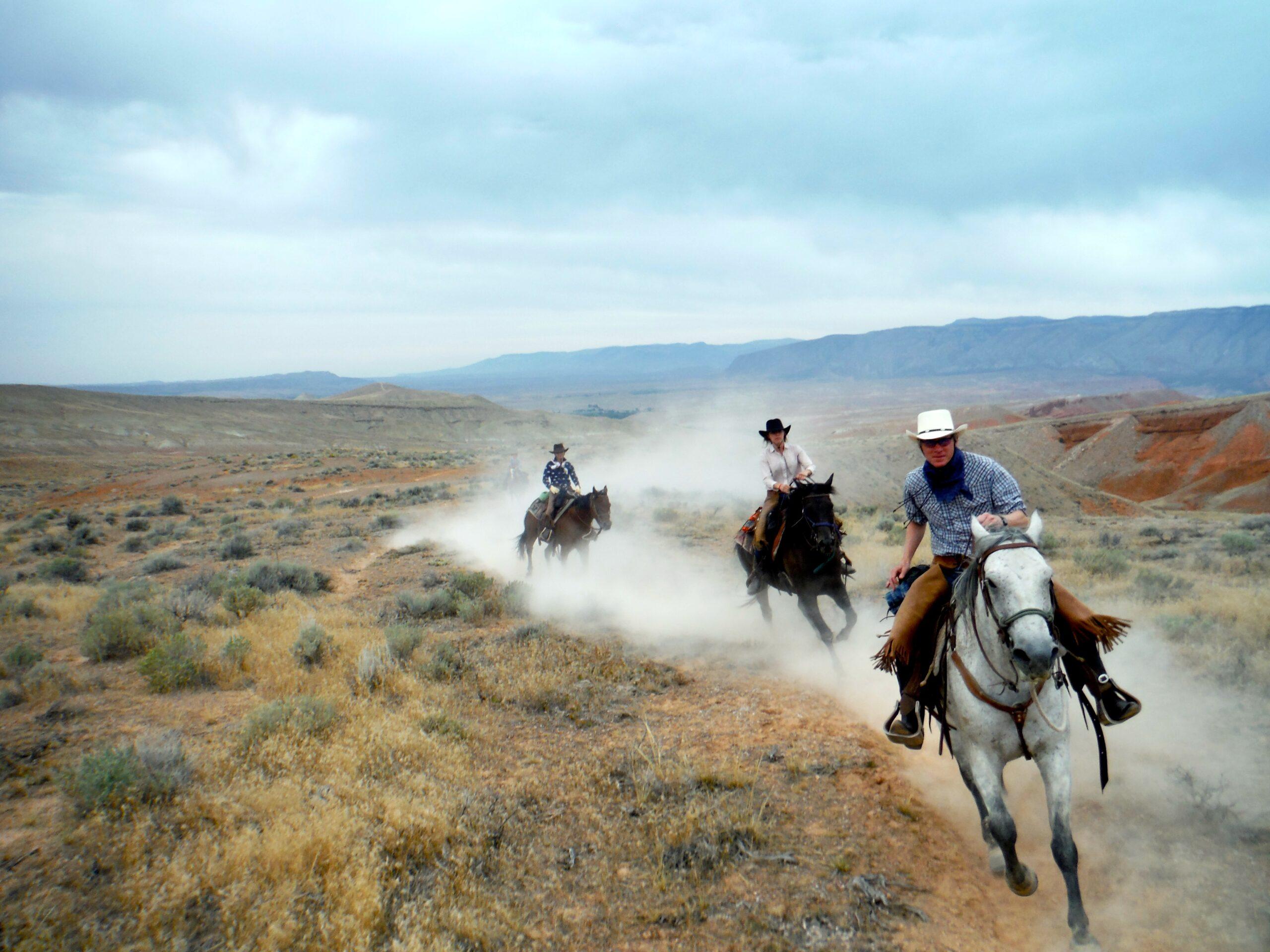 Ranchvakantie in Wyoming / Verenigde Staten - Vakantie te paard / Reisbureau Perlan
