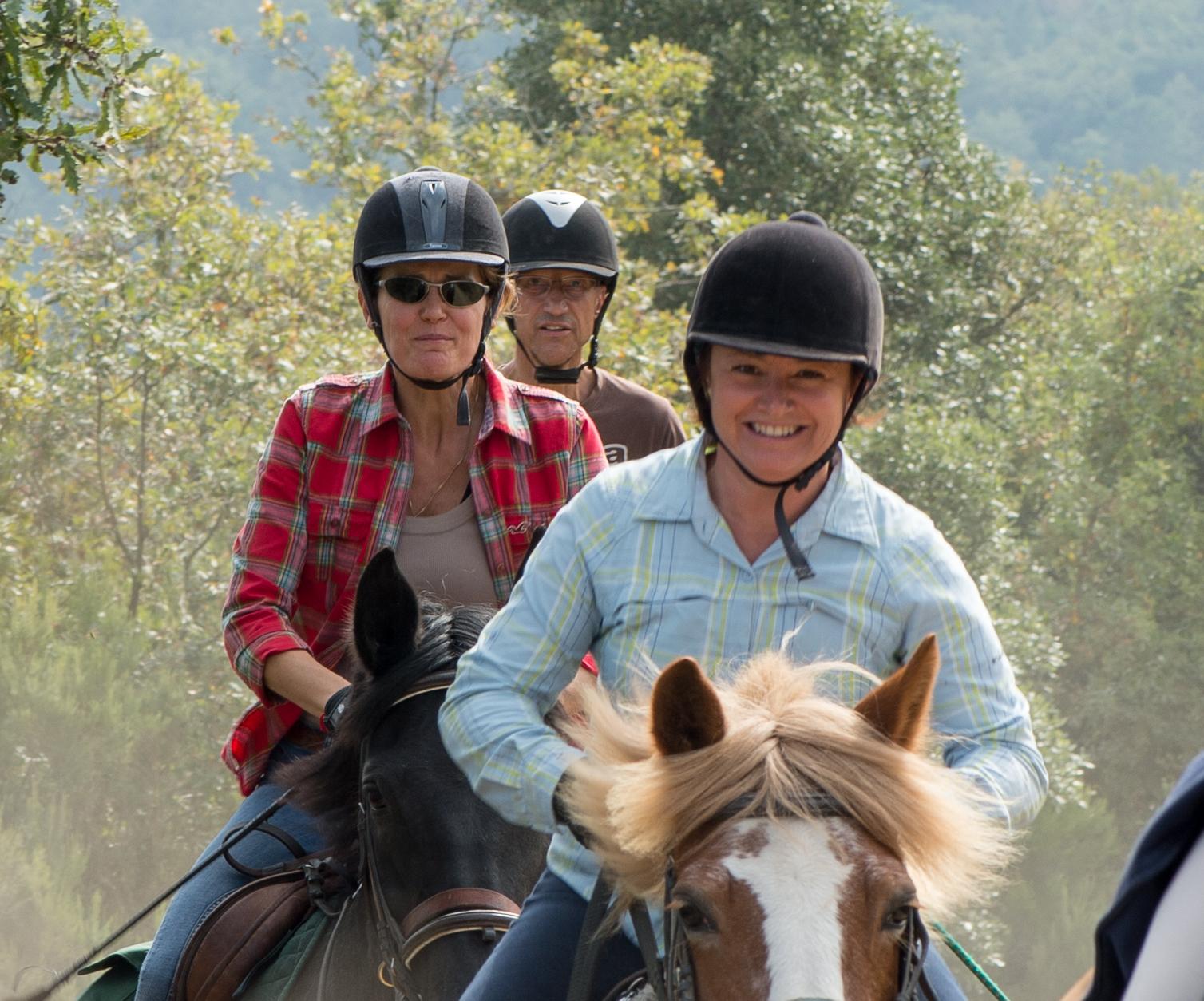 Ontspannen en paardrijden in de Chianti streek / Italië - Vakantie te paard / Reisbureau Perlan