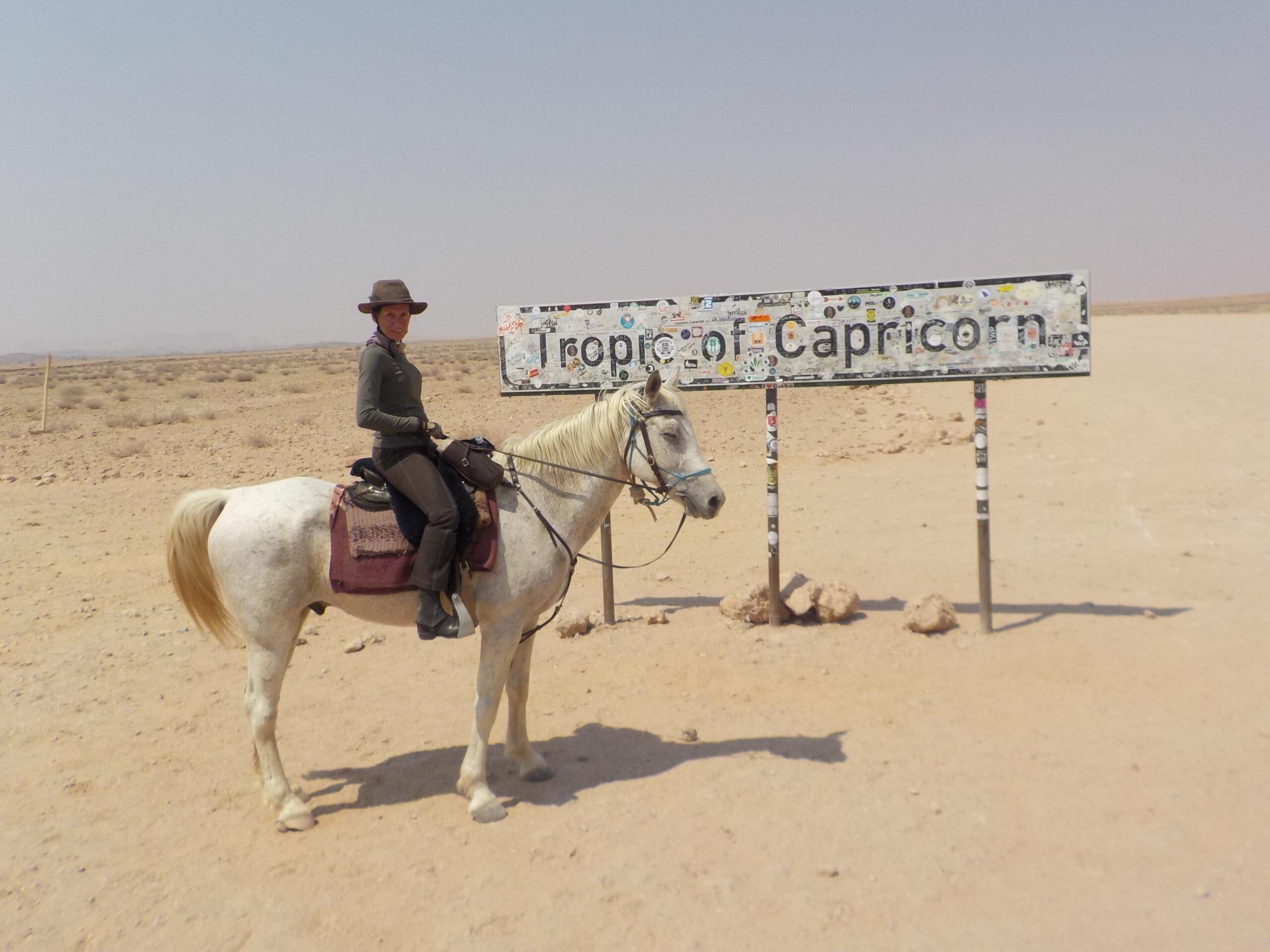 Expeditie te paard in Namibië - Vakantie te paard / Reisbureau Perlan