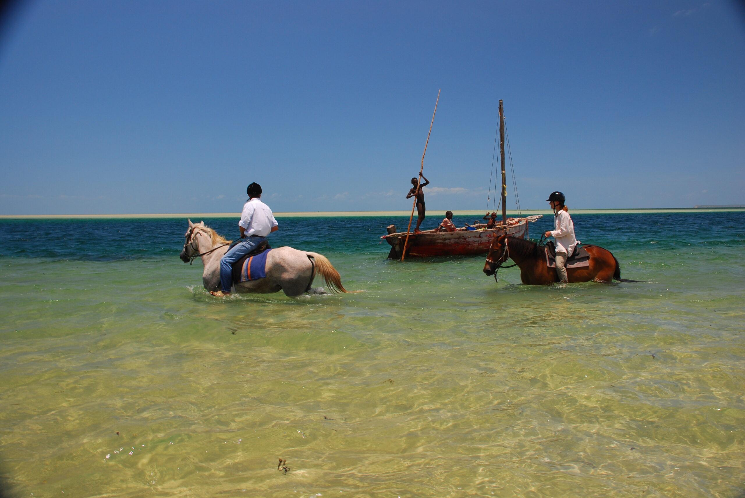 Exotische Stranden in Mozambique - Vakantie te paard / Reisbureau Perlan