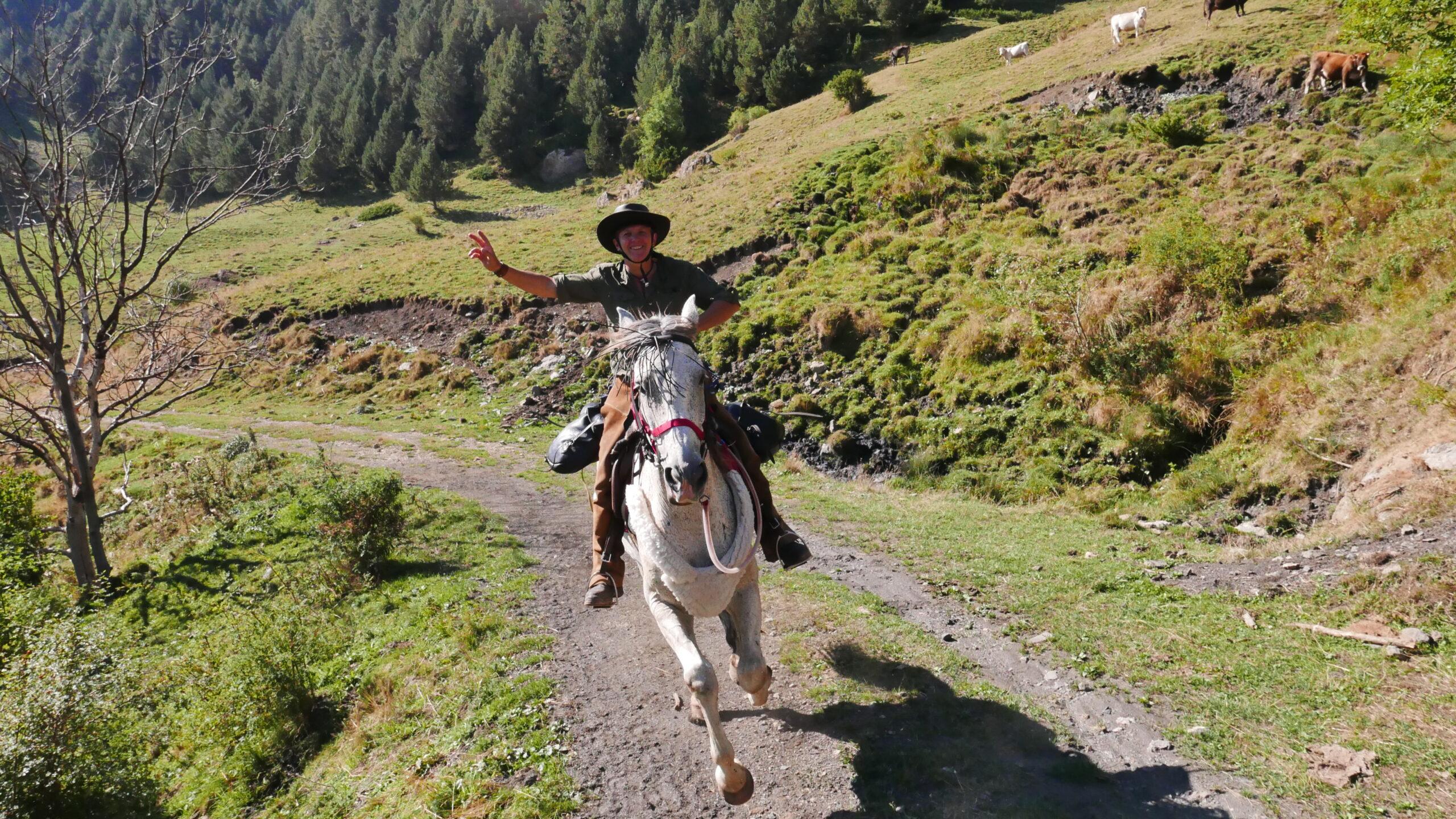 Paardrijden en fun in Spanje - Vakantie te paard / Reisbureau Perlan