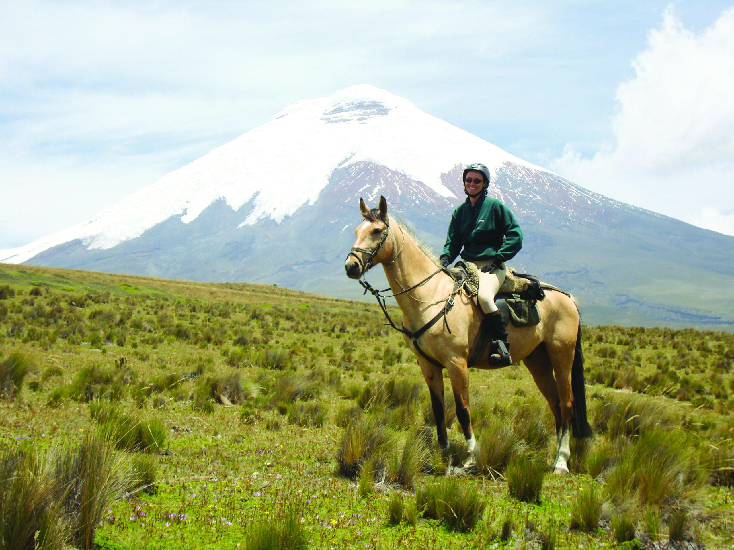 Paardrijden in Ecuador - Vakantie te paard / Reisbureau Perlan