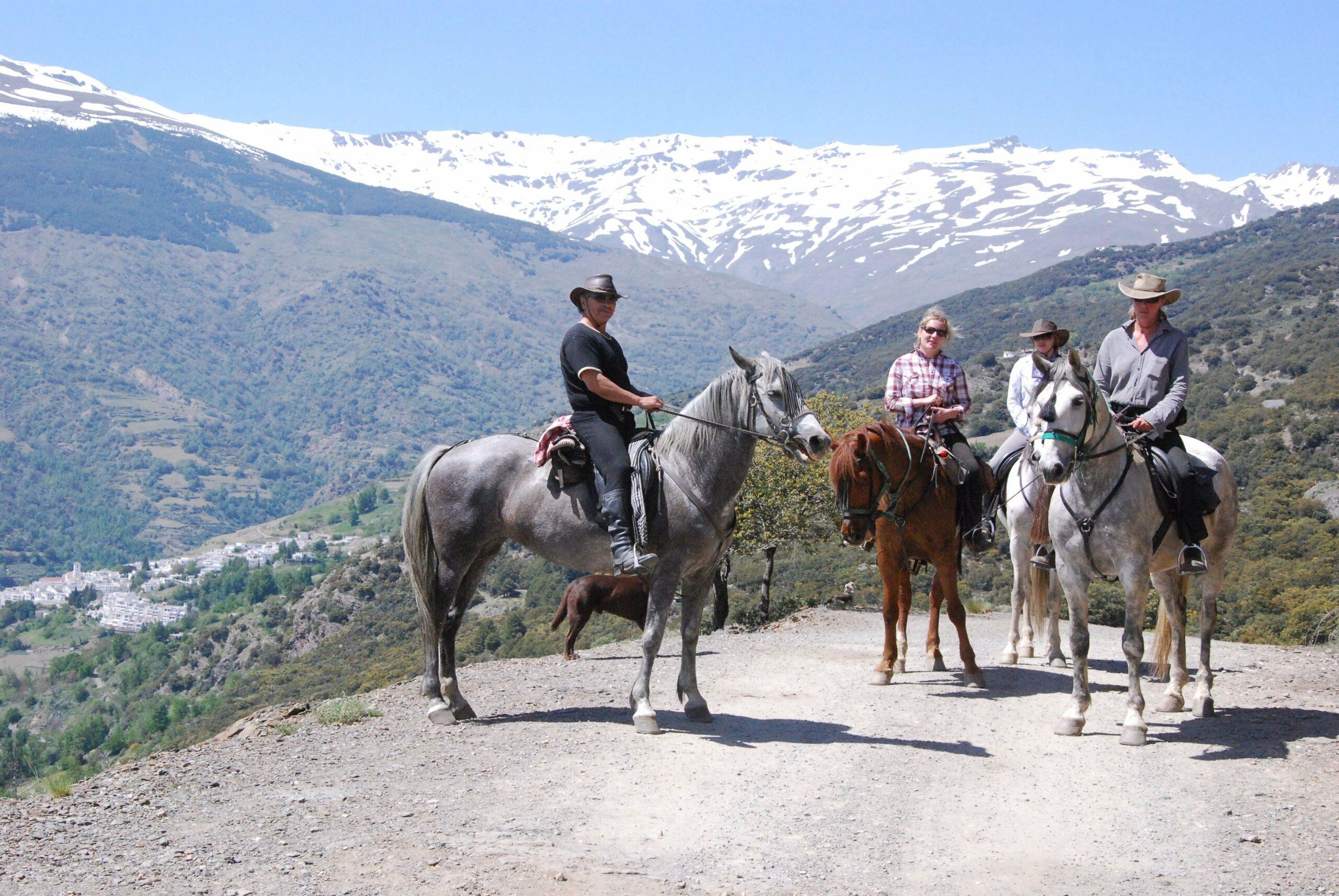 Shortbreak te paard Sierra Nevada - Vakantie te paard / Reisbureau Perlan