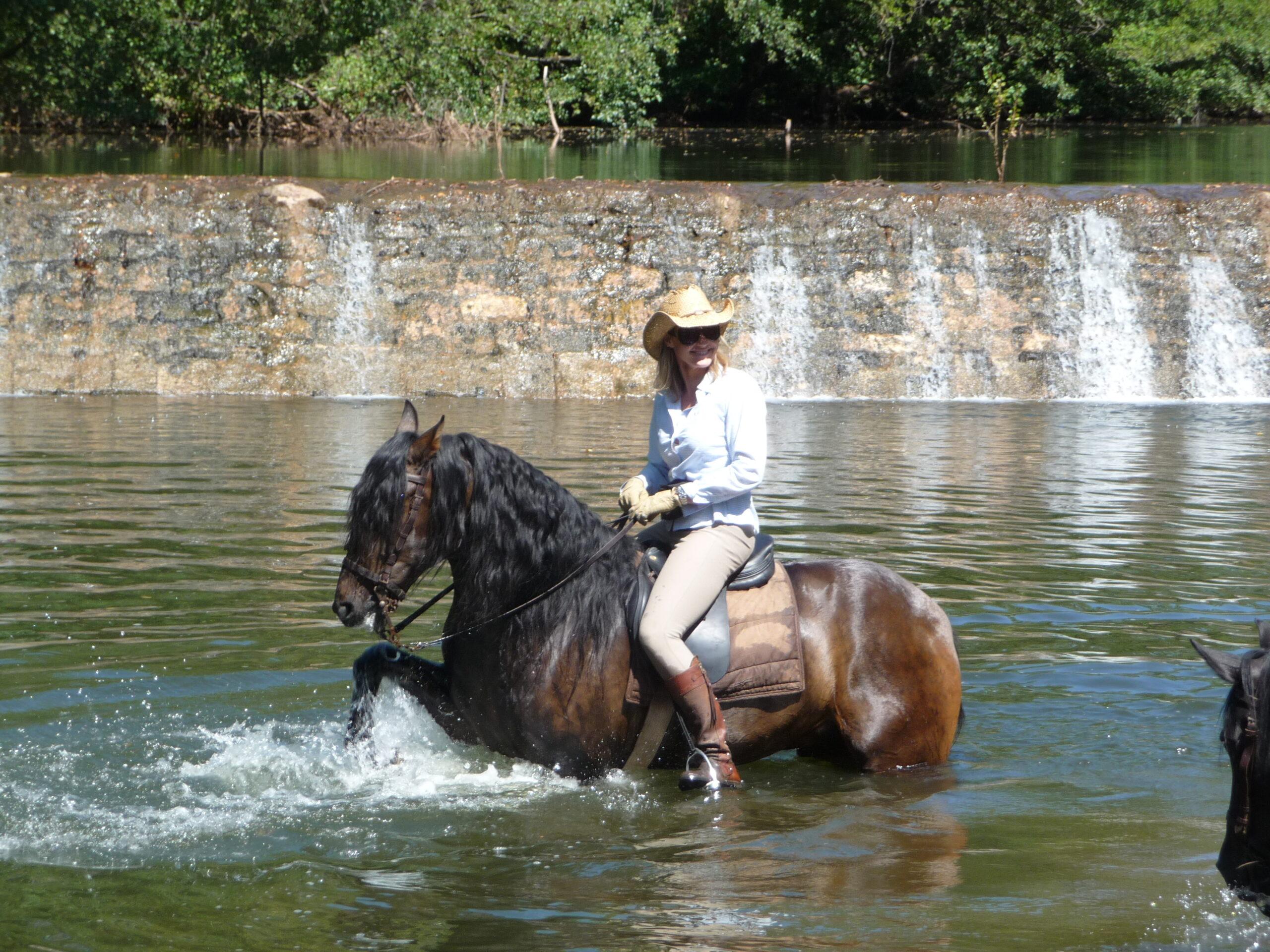 Paardrijden op PRE in Spanje - Vakantie te paard / Reisbureau Perlan