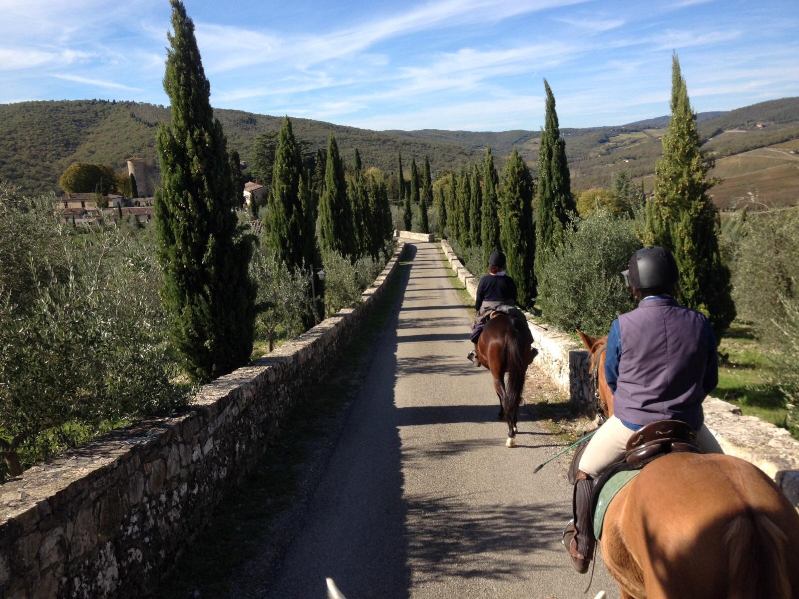 Paardrijden in de Chianti streek / Italië - Vakantie te paard / Reisbureau Perlan