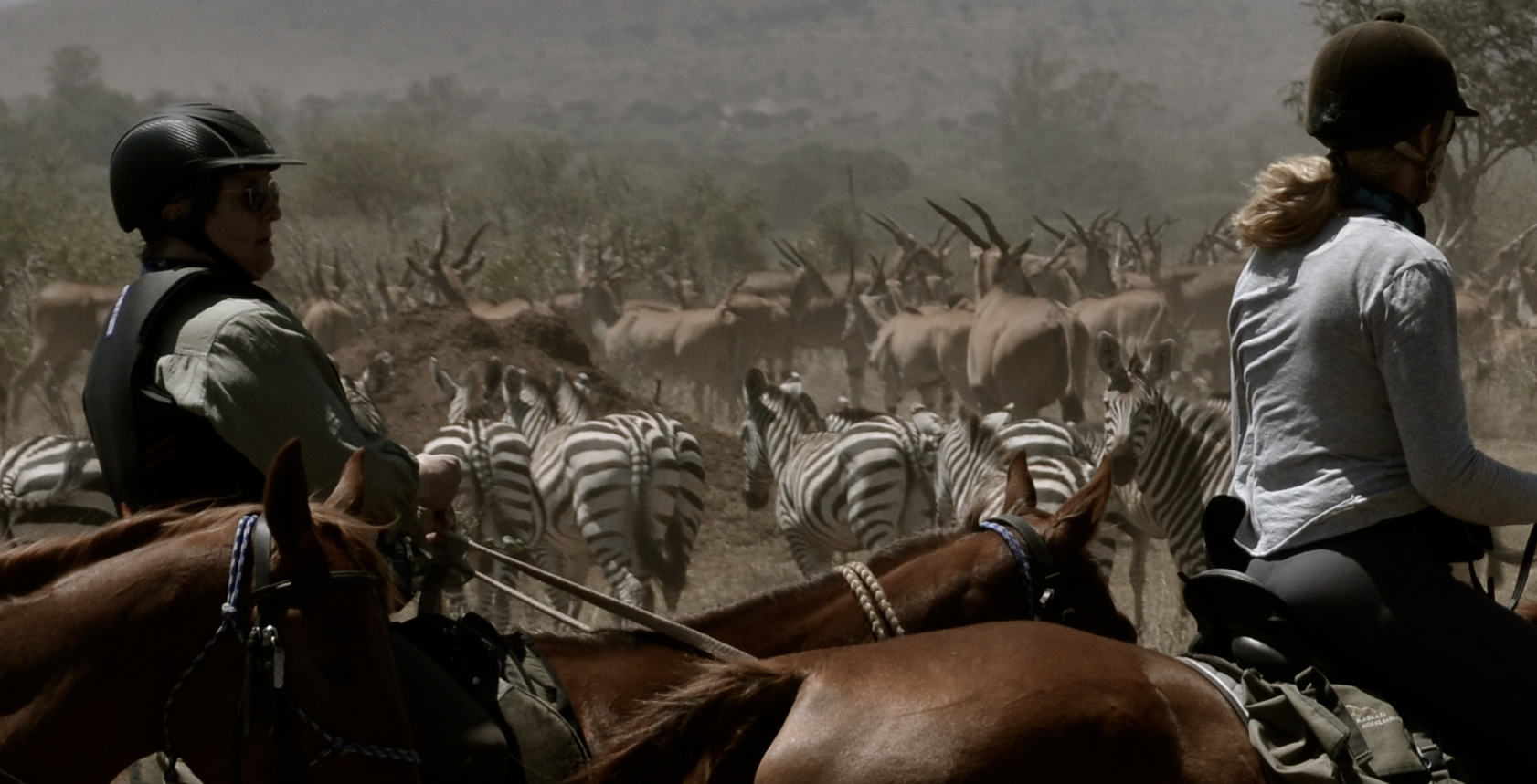 Safari te paard in Kaskazi / Tanzania - Vakantie te paard / Reisbureau Perlan